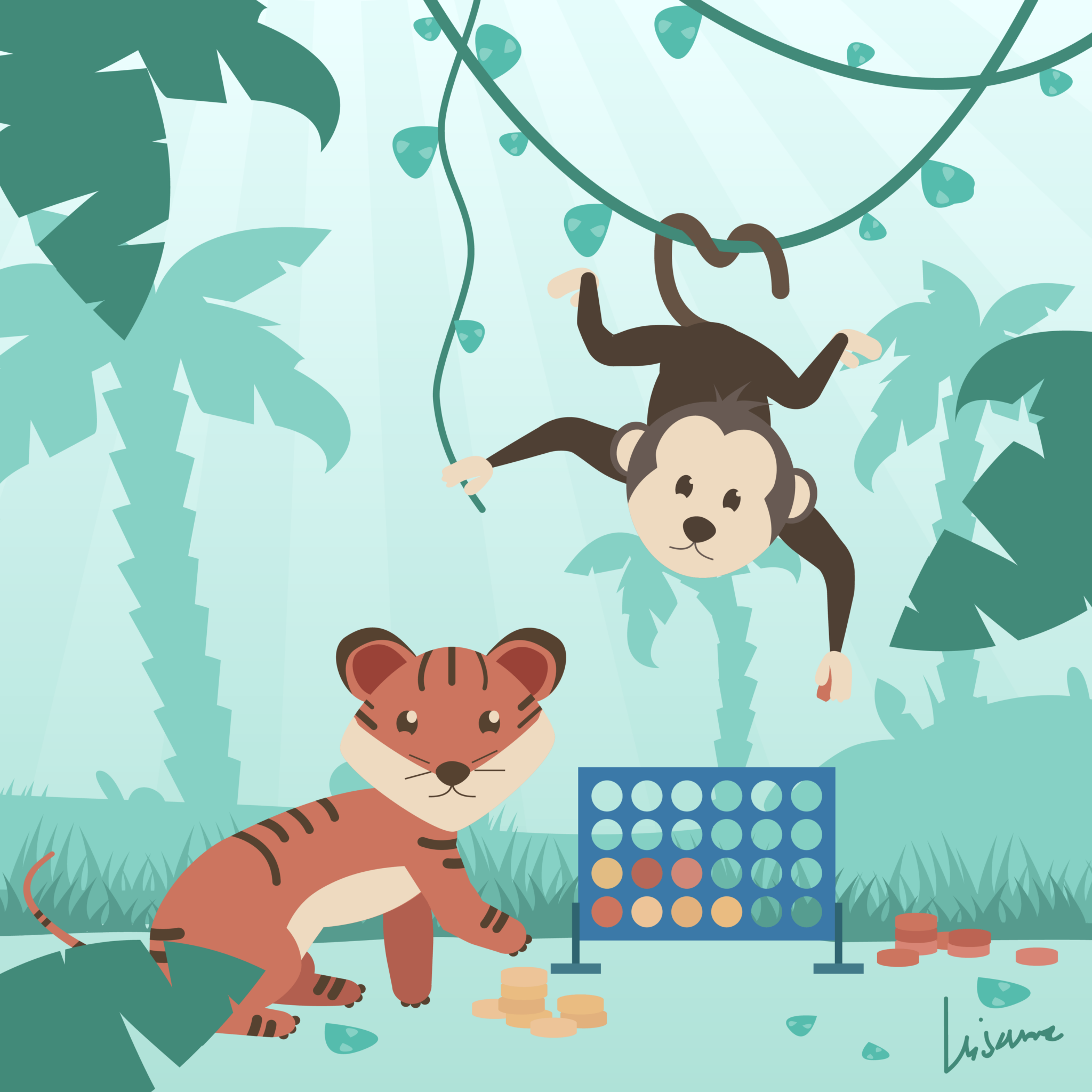 Week 30: A Tiger in the Jungle & Playing Games